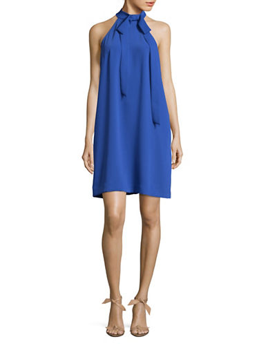 Rachel Rachel Roy High-Neck Shift Dress-LIGHT BLUE-4