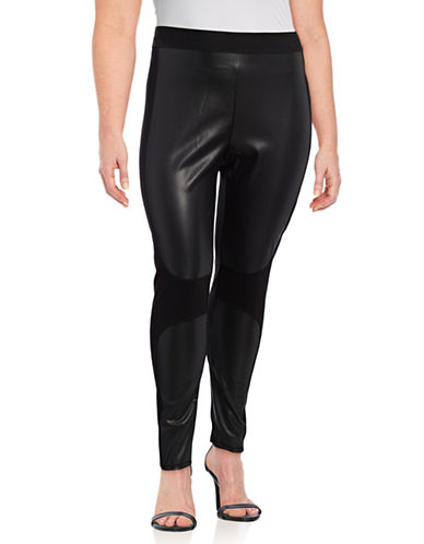 Rachel Rachel Roy Plus Simone Leggings-BLACK-1X