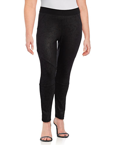Rachel Rachel Roy Plus Juliette Leggings-BLACK-1X