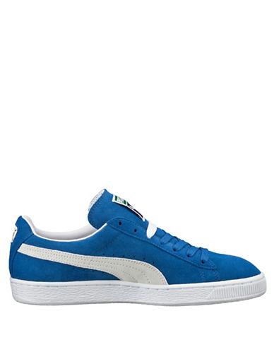 Puma Suede Classic Sneakers-BLUE-7.5 88554672_BLUE_7.5