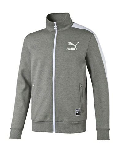 Puma T7 Track Jacket-GREY-Small 88509401_GREY_Small