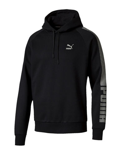 Puma Evo Core Fleece Hoodie-BLACK-Medium 88509432_BLACK_Medium