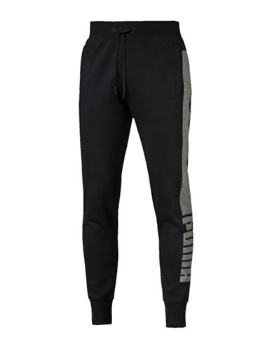 Puma Evo Core Fleece Pants-BLACK-XX-Large 88509440_BLACK_XX-Large
