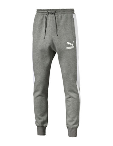 Puma T7 Track Pants-GREY-Large 88509408_GREY_Large