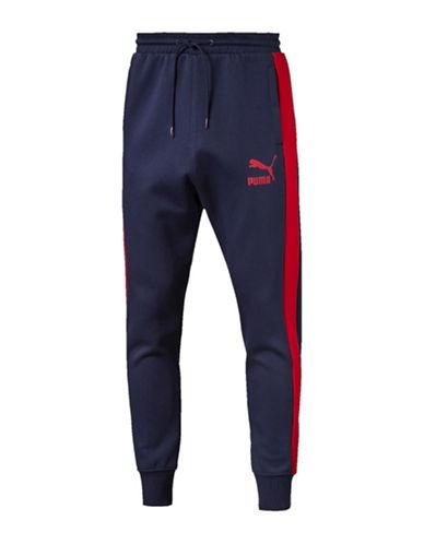 Puma T7 Track Pants-BLUE-Small 88437938_BLUE_Small