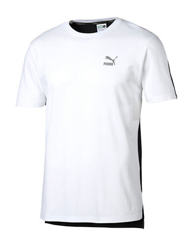 Puma Evo Core Tee-WHITE-Medium 88744738_WHITE_Medium
