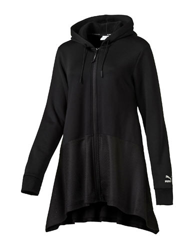 Puma Evo Drapy Full-Zip Hoodie-BLACK-Medium 88843705_BLACK_Medium
