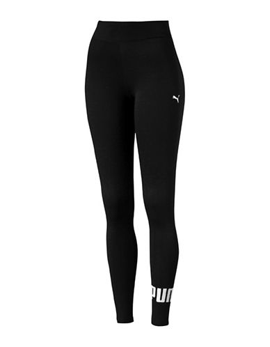 Puma Essential No.1 Leggings-COTTON BLACK-Small 89063998_COTTON BLACK_Small