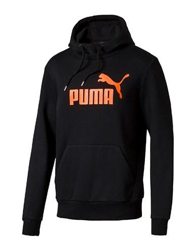 Puma Logo Printed Hoodie-BLACK-Medium 88853936_BLACK_Medium