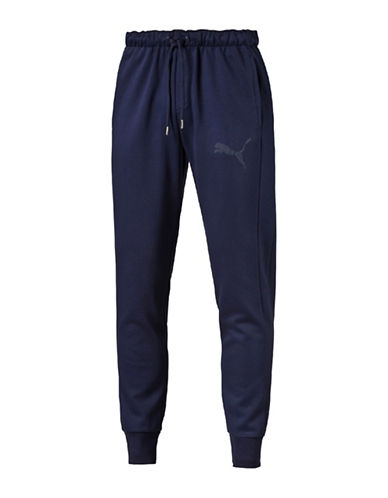 Puma Fleece Core Pants-BLUE-Medium 89152729_BLUE_Medium