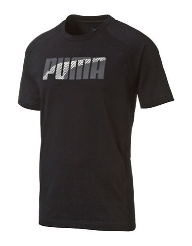 Puma Evostripe Cotton Blend Tee-BLACK-Small 88661593_BLACK_Small