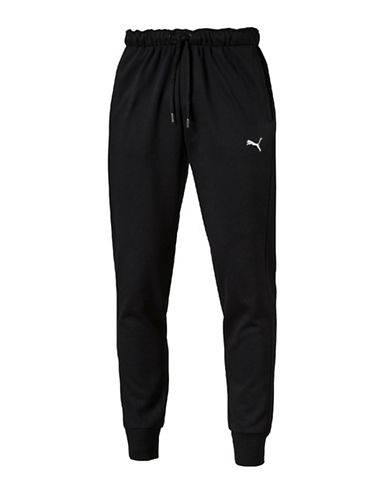 Puma Hero Fleece Jogger Pants-BLACK-Medium 88781203_BLACK_Medium
