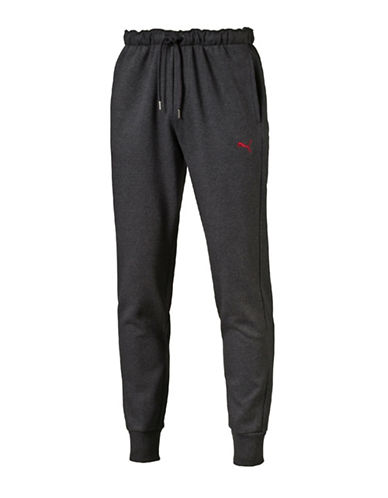 Puma Hero Fleece Jogger Pants-DARK GREY-X-Large 88781210_DARK GREY_X-Large
