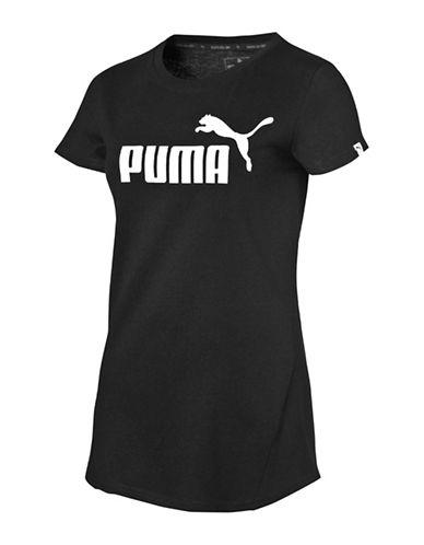 Puma Essential No.1 Tee-COTTON BLACK-X-Large 89063981_COTTON BLACK_X-Large