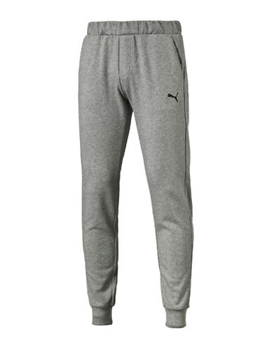 Puma Slim Essential Sweat Pants-GREY-X-Large 89076802_GREY_X-Large