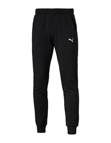 Puma Slim Essential Sweat Pants-BLACK-Medium 89076795_BLACK_Medium
