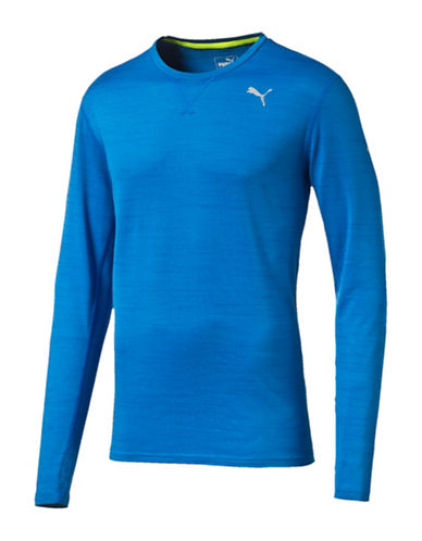 Puma Rebel-Run Long Sleeve Top-BLUE-Small 88437904_BLUE_Small