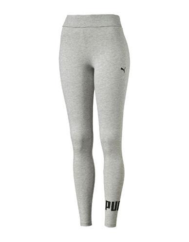 Puma Essential No.1 Heathered Leggings-LIGHT GREY HEATHER-X-Small 89136433_LIGHT GREY HEATHER_X-Small