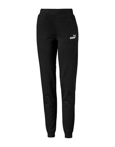 Puma Essential No.1 Sweatpants-COTTON BLACK-Medium 89064004_COTTON BLACK_Medium