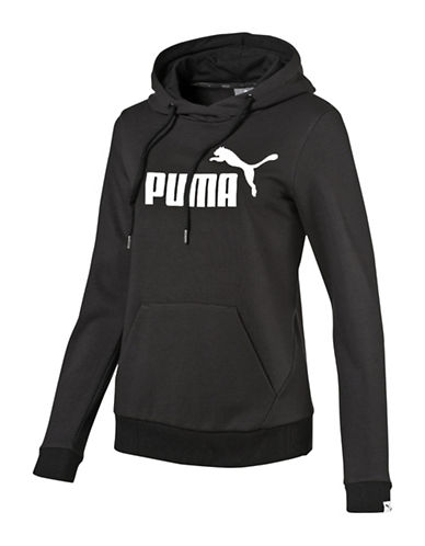 Puma Essential No.1 Hoodie-COTTON BLACK-Medium 89063989_COTTON BLACK_Medium