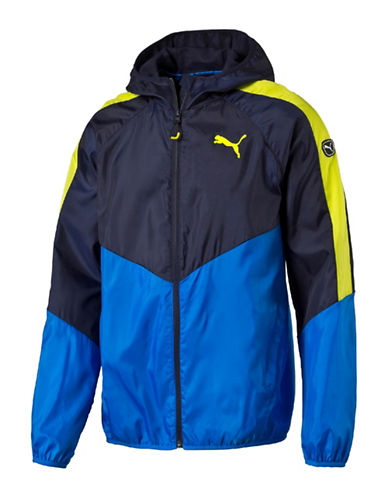 Puma Active Techstripe Windbreaker-BLUE-X-Large 88661611_BLUE_X-Large