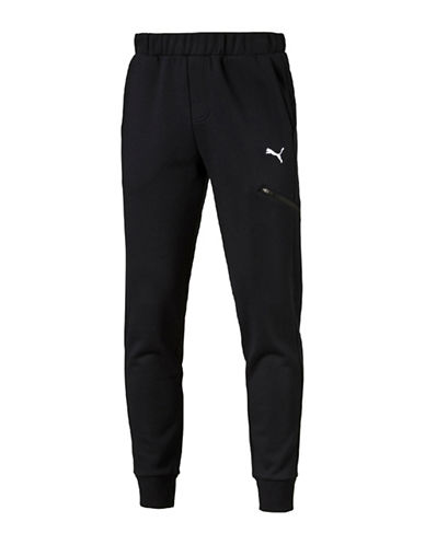 Puma Essential Pocket Pants-BLACK-X-Large 88702360_BLACK_X-Large
