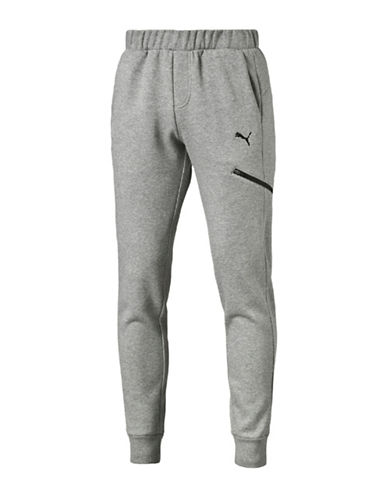 Puma Essential Pocket Pants-GREY-X-Large 88781234_GREY_X-Large