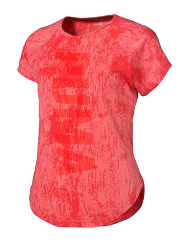 Puma Dancer Burnout Tee-PINK-Small 88843595_PINK_Small
