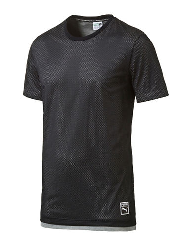 Puma Graphic Printed Baseball T-Shirt-BLACK-X-Large 88853873_BLACK_X-Large