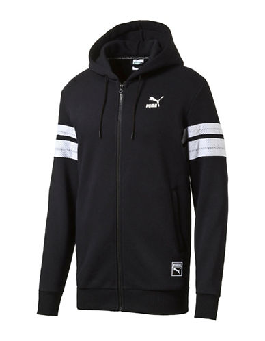 Puma Baseball Full Zip Hoodie-BLACK-Small 88853882_BLACK_Small