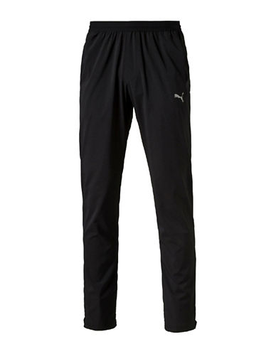 Puma Tapered Woven Pants-BLACK-Small 88661558_BLACK_Small