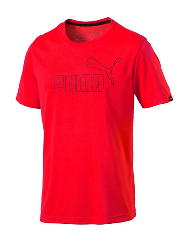 Puma Active No.1 Logo Tee-RED-Large 88781224_RED_Large
