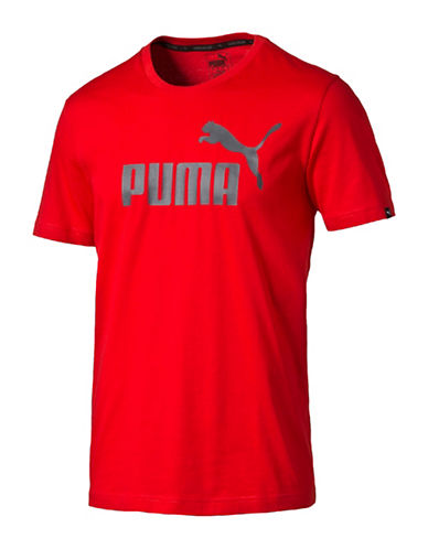 Puma Essential No.1 T-Shirt-RED-Medium 88978188_RED_Medium