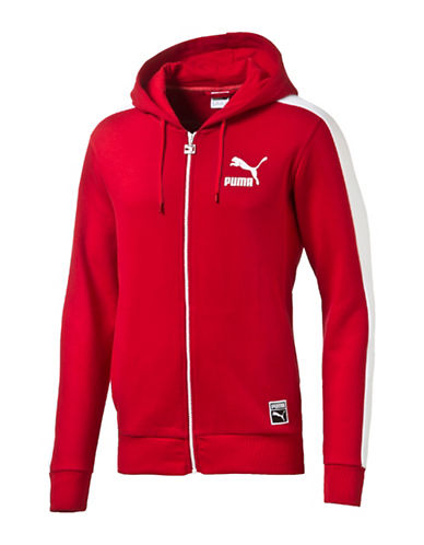 Puma T7 Full-Zip Hoodie-RED-Large 88853862_RED_Large