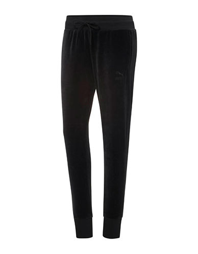 Puma Velour T7 Pants-BLACK-Large 88843756_BLACK_Large