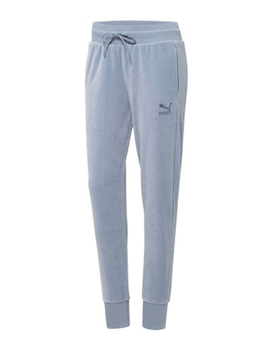 Puma Velour T7 Pants-BLUE-Small 88843759_BLUE_Small