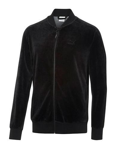 Puma Velour T7 Jacket-BLACK-X-Large 88853898_BLACK_X-Large