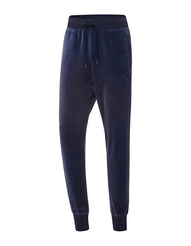 Puma Velour T7 Pants-BLUE-Medium 88853921_BLUE_Medium