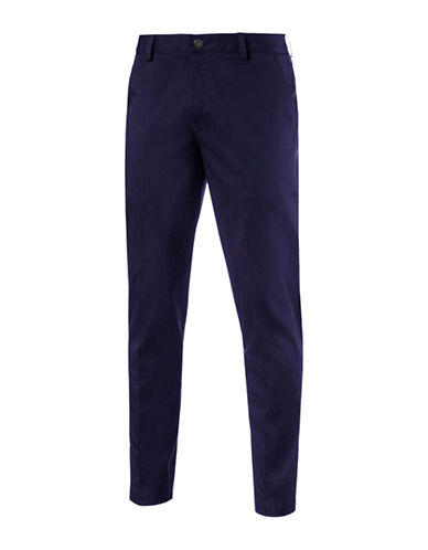 Puma Tailored Golf Chino Pants-BLUE-40