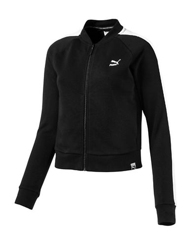Puma Archive Logo T7 Track Jacket-COTTON BLACK-Large 89063920_COTTON BLACK_Large