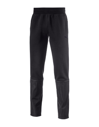 Puma Evo Cotton Blend Sweatpants-BLACK-Medium 88978098_BLACK_Medium
