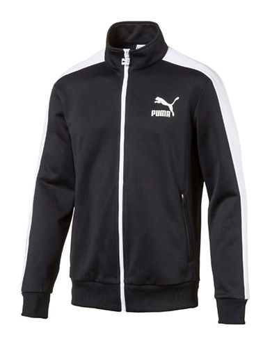 Puma Archive T7 Cotton Track Jacket-BLACK-X-Large 88978135_BLACK_X-Large