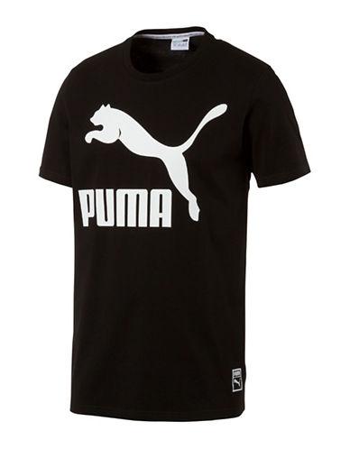 Puma Archive Logo Tee-BLACK-Large 88978069_BLACK_Large