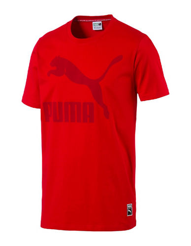 Puma Archive Logo T-Shirt-RED-Large 89076771_RED_Large