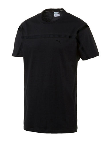 Puma Evo Tape T-Shirt-BLACK-Medium 89182105_BLACK_Medium