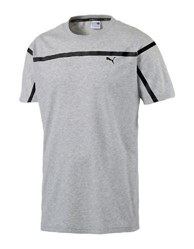 Puma Evo Tape T-Shirt-GREY-X-Large 89182112_GREY_X-Large