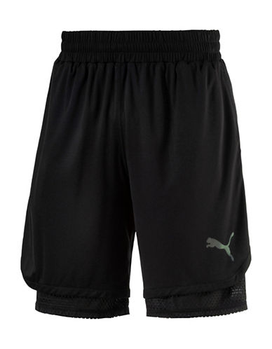 Puma Reversible Training Shorts-BLACK-Large 88978054_BLACK_Large