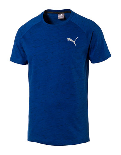 Puma Evostripe Spaceknit T-Shirt-BLUE-Small 89182119_BLUE_Small