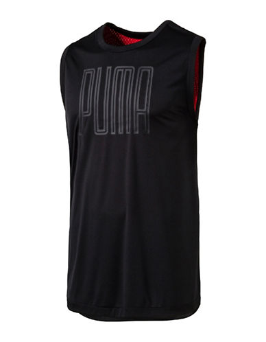 Puma Training Sleeveless Top-BLACK-X-Large 89182077_BLACK_X-Large