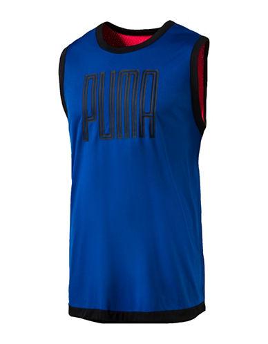 Puma Training Sleeveless Top-BLUE-Large 89182070_BLUE_Large